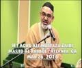 [Speech] Few Important Obstacles In Preparation For Imam Zaman AJTF | H.I Agha Ali Murtaza Zaidi - Urdu