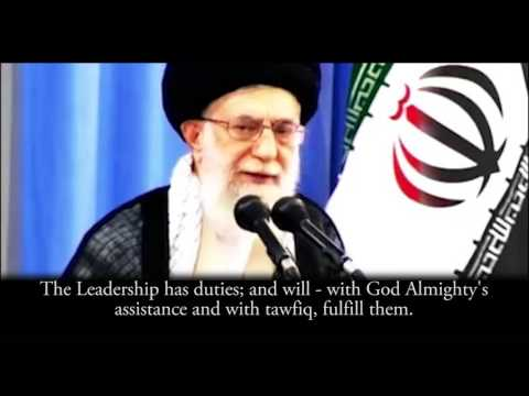 Imam Khamenei(HA): You should know what your duty is! - Farsi sub English