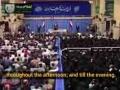 [Clip] - Leader Ayat. Khamenei\'s Daily Work Schedule - inQiLaBi Media - Farsi Sub English