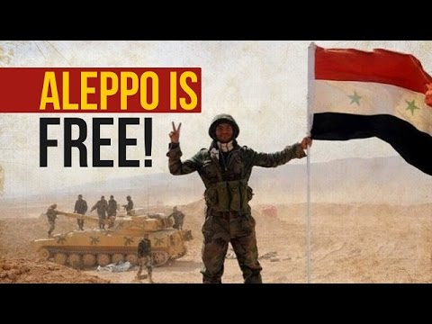 Aleppo, Syria Is Free! | Agha Alireza Panahian | Farsi sub English