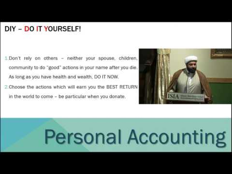 Lecture By Shaykh Saleem Bhimji | Topic : Self Accounting - English