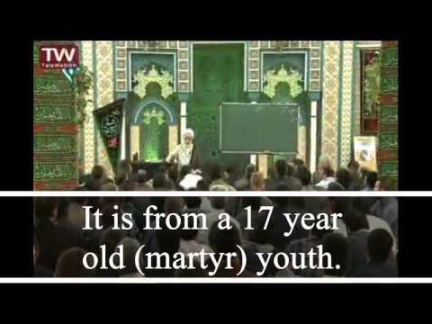 Beautiful Message From a Youth Martyr - English Subtitles