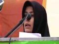[Youm e Mustafa (saww)] Speech: Khuahar Sabahat | 1438/2017 - Karachi University - Urdu