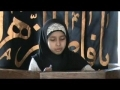 Children Majlis - Zainabia MI 2009 - Speech - S. Zehra - English
