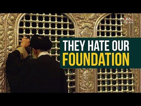 They Hate Our Foundation | Imam Sayyid Ali Khamenei | Farsi sub English