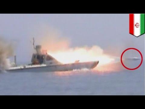 Military power: Iran test-fires powerful torpedo in Strait of Hormuz - TomoNews - English