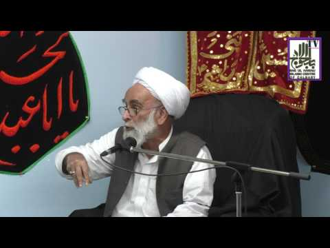 [Ramazan 1438/2017  Lecture - 09] Spk : H.I Allama Haider Ali Jawwadi - Urdu