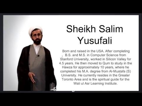 [Ramadan16 2017] Practical lessons from Surah Yaseen   Shaykh Salim Yusufali   Saba Center English (Speech start af