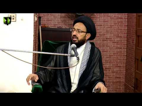 [Majlis] Topic: Imam Sadiq (as) ke Nigah May Insani Nijaat ke Raahain | H.I Sadiq Raza Taqvi - Urdu