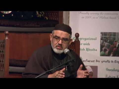 [09] حسینیت, نصرت حسین اور عصر حاضر کے تقاضے Maulana Ali Murtaza Zaidi  2017/1439 AH Urdu