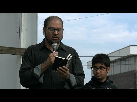 Marcia by Br  Mehboob Shah - Toronto Protest & Azadari at Pakistan consulate General - Urdu