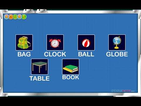 [Educational Videos] Noun Class-I - English