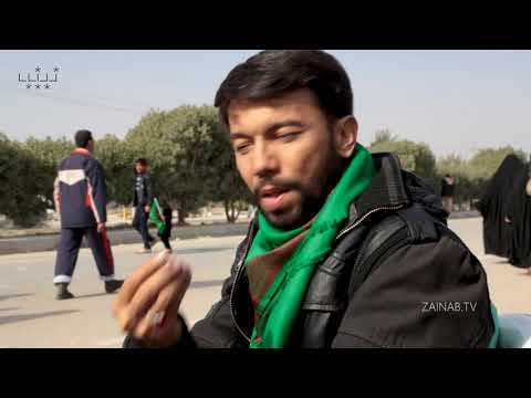 The Walk to Imam Mahdi\'s Arrival (2) - Ali Safdar during Walk - Urdu