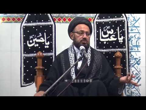 [2] Topic: Ghurbat-e-AhleBait (as) غربت اہلبیتؑ   H.I Sadiq Raza Taqvi   Safar 1439/2017 - Urdu