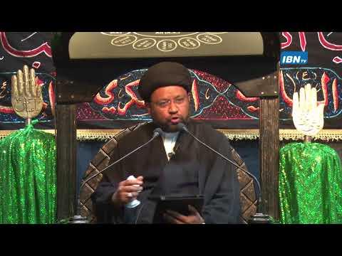 02 Majlis Moharram 1438 Hijari 2016 Topic: Leadership in Islam By Allama Sayed Mohammad Fayyaz Baqir - Urdu