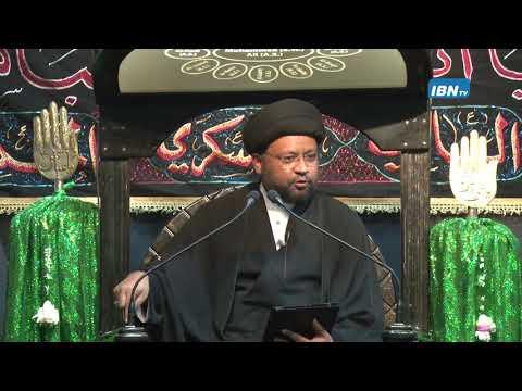 03 Majlis Moharram 1438 Hijari 2016 Topic: Leadership in Islam By Allama Syed Mohammad Fayyaz Baqir - Urdu