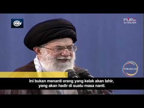 [Clip] Makna Penantian | Imam Sayyid Ali Khamenei - Farsi sub Malay