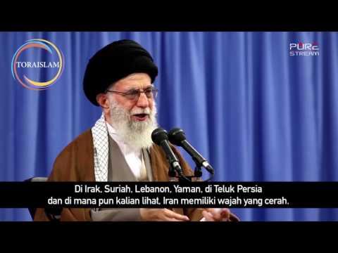 [Clip] Republik Islam Iran Berdiri Tegak   Imam Khamenei - Farsi sub Malay