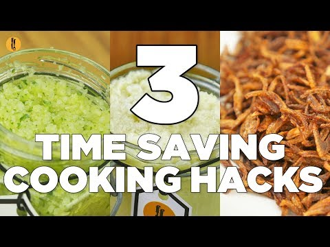 3 Time Saving Cooking hacks - English Urdu
