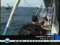 Israeli gunboats hem in Gaza fishermen - 13Apr09 - English