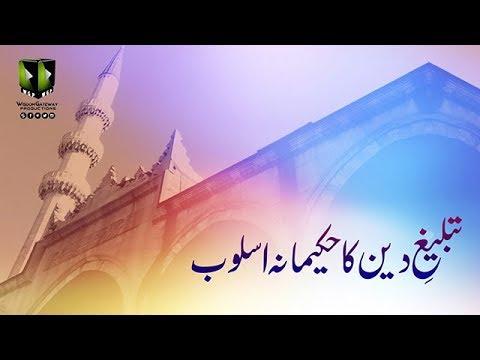 [Clip] تبلیغ دین کا حکیمانہ اسلوب   Moulana Muhammad Raza Dawoodani - Urdu