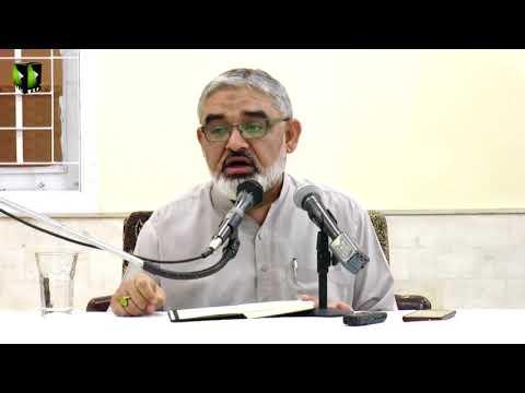 [ Mahana Fikri Nashist ]  Lecture 3 | H.I Syed Ali Murtaza Zaidi - March - 2018 - Urdu