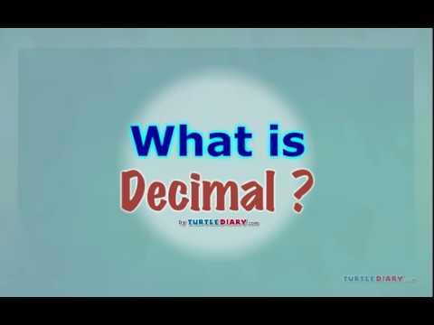 [Educational Videos] What is Decimal? - English