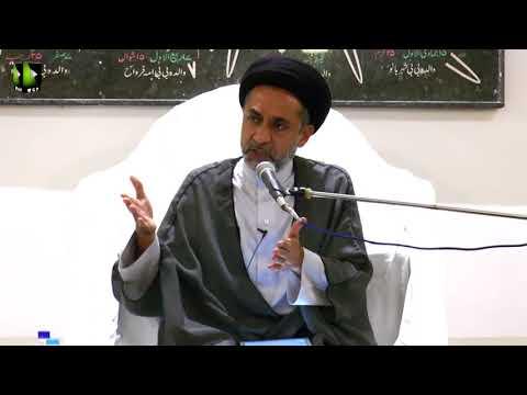 Majlis-e-Aza Basilsile Shahadat Imam Ali Naqi (A.s) | Khitab : H.I Muhammad Haider Naqvi - Urdu