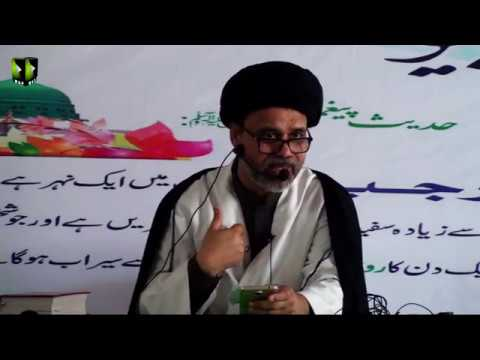 Topic :  فلسفہَ دعا و زیارت   | Speech : H.I Moulana Haider Abbas Abidi - 31 March 2018 - Urdu