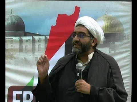[AlQuds Day 2018 Toronto] Speech by Sheikh Shafiq Huda -English