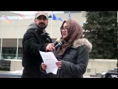 Speech by Asfa Riyaz - Shia Genocide Protest Rally in Calgary Canada