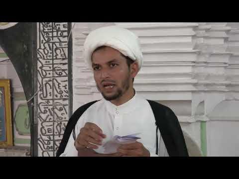 Khutba-e-Juma : 25-05-2018 : Moulana Agha Munawer Ali