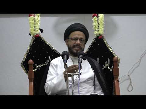 Shab of 30th Zilqad 1440 AH - 10th Sep 2018 Muharram Majlis Khitab: H I Syed Mohammad Zaki Baqri - Urdu