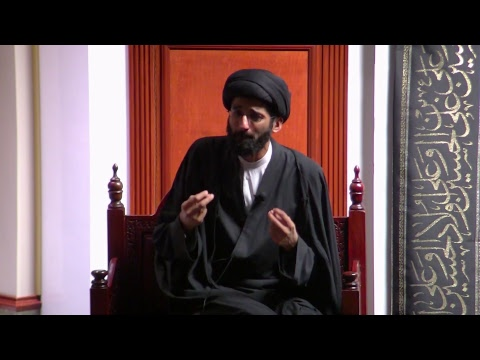 [5] Topic: Connect with the Mission/Revolution of Imam Hussain(A) | H.I. Sulayman Abidi | English