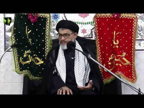 [05] Topic: Quran o Ahlebait (as) - قرآن و اہلبیتؑ    Moulana Razi Haider Zaidi   Muharram 1440 -