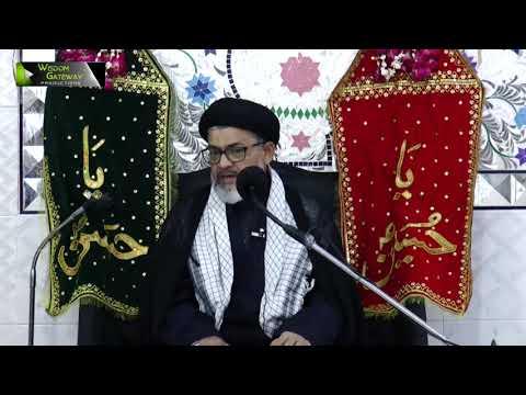 [06] Topic: Quran o Ahlebait (as) - قرآن و اہلبیتؑ    Moulana Razi Haider Zaidi   Muharram 1440 -