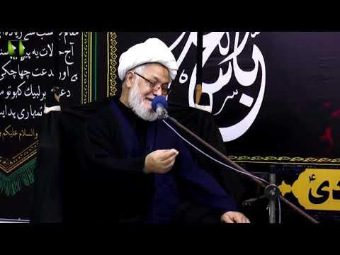 [08] Topic: تجلی امامت اور کربلا  | H.I Ghulam Abbas Raesi | Muharram 1440 - Urdu