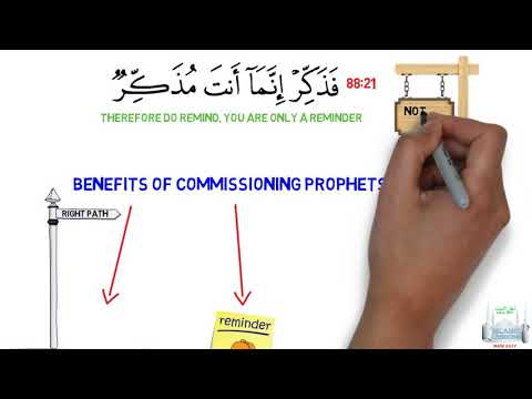 Prophethood Lesson 2 - Benefits of Prophets - English