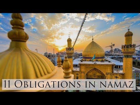 Spiritual Journey   EP4   11 Obligations in Namaz   by Maulana Ali Raza Rizvi 2018 - Urdu