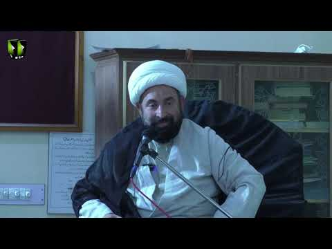 [5]Ezat aur Zillat ka mayar Quran O Ahlybat(A) ki Roshni mai   H.I Mirza Hussain Sabri - Urdu