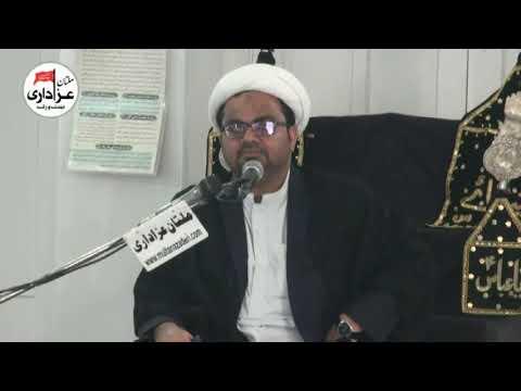 Majlis 25 Feb 2018 Topic: Surah Ankaboot By H I Muhammad Raza Dawoodani from Karachi at Haideria Gulghast Multan-Urdu