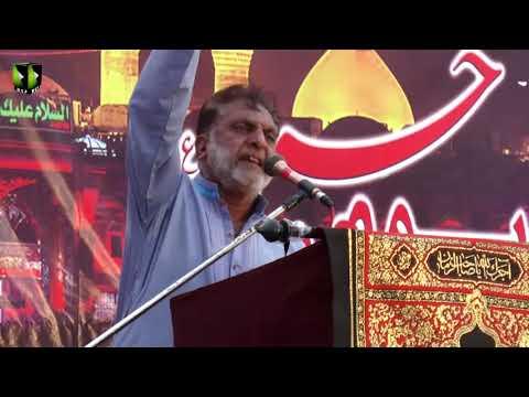 Gham e Hussain(A) mai Sub Ko Khuda Nazar aa ai   Br.Ayjaaz - Urdu