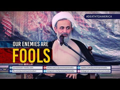 Our Enemies are Fools | Agha Alireza Panahian | Farsi Sub English