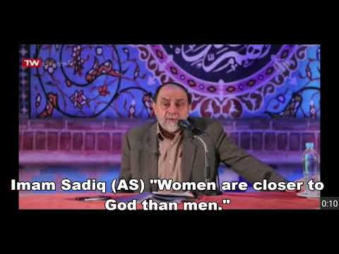 Mothers Day Gift-Imam Sadiq (AS) Hadith -farsi sub english