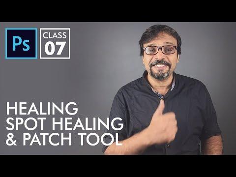 Healing Tools - Adobe Photoshop for Beginners - Class 7 | Urdu Hindi