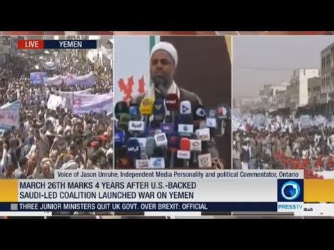 [26 March 2019] LIVE: March 26th marks 4 years after U.S.-backed Saudi-led coalition launched war on Yemen  - English