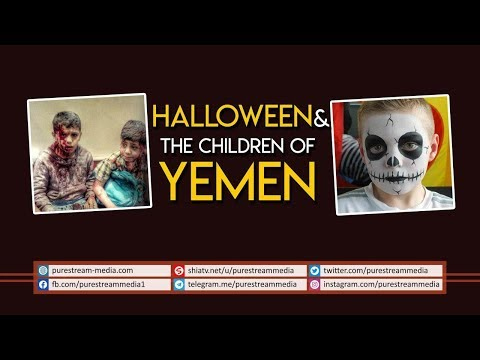 Halloween & The Children of Yemen | Farsi Sub English