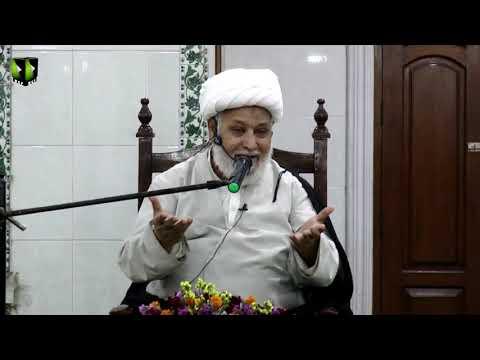 [Dars-e-Ikhlaaq 3 ] Topic: نوجوانوں کے اخلاقی مسائل  | H.I Ghulam Abbas Raesi - Urdu