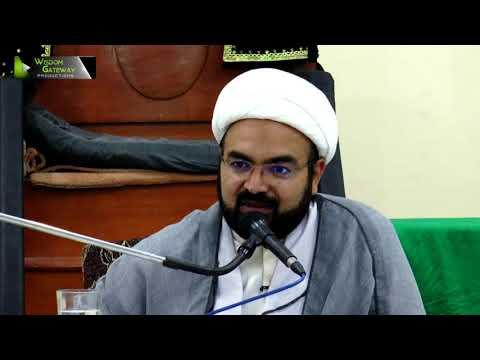 [Lecture 4] Topic:  انتظار اور وظائف منتظرین |  H.I Ali Asghar Saifi - Urdu