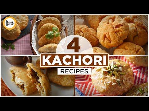 [Quick Recipe] 4 types of Kachori (Ramzan Special Recipes) - English Urdu